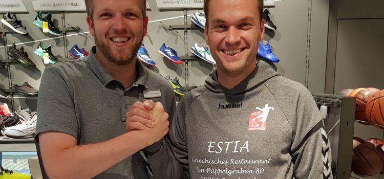 Des Handballers neue Schuhe