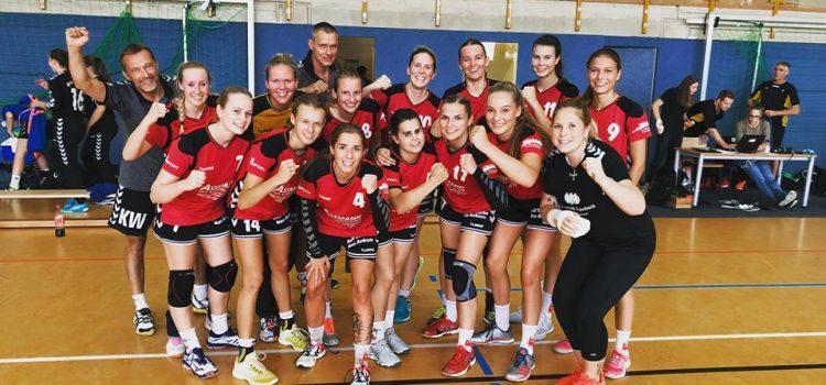 1. Damen – Der HSG-Zug rollt: 3.Spiel, 3. Sieg