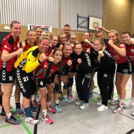1. Damen – (Nur) 1 Punkt aus Spiel gegen Nordhorn