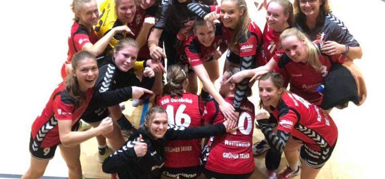 1. Damen – Pflichtaufgabe erfüllt: 16:0 Punkte