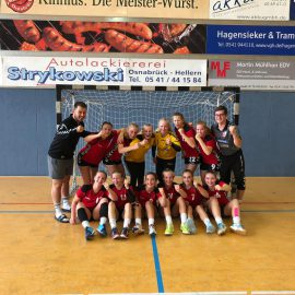 wB – Die ersten beiden Punkte auf dem Weg in die Oberliga