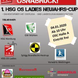 1. Damen – Neujahrs-Cup am 04.01.20
