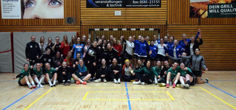 1. Damen – HSG OS Ladies Neujahrs-Cup ein voller Erfolg